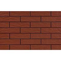 Клинкерная плитка Cerrad Burgund Glad 1с 24,5*6,5*0,65 рыжая