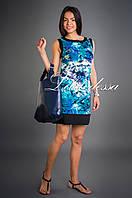Платье льняное зеленый, фото 1