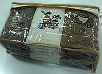 Махровые полотенца,для кухни, набор 6 шт, Турция