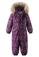 Зимний комбинезон для девочки Reimatec Lappi 510308.9-4966. Размеры 74 - 98., фото 1