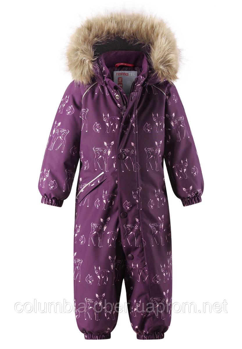 Зимний комбинезон для девочки Reimatec Lappi 510308.9-4966. Размеры 74 - 98.