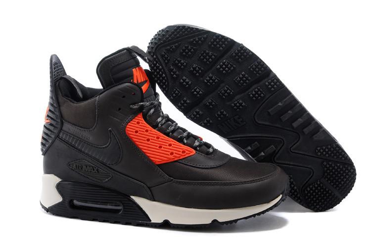 Кроссовки мужские Nike Air Max 90 Sneakerboot / 90AMM-485 (Реплика)