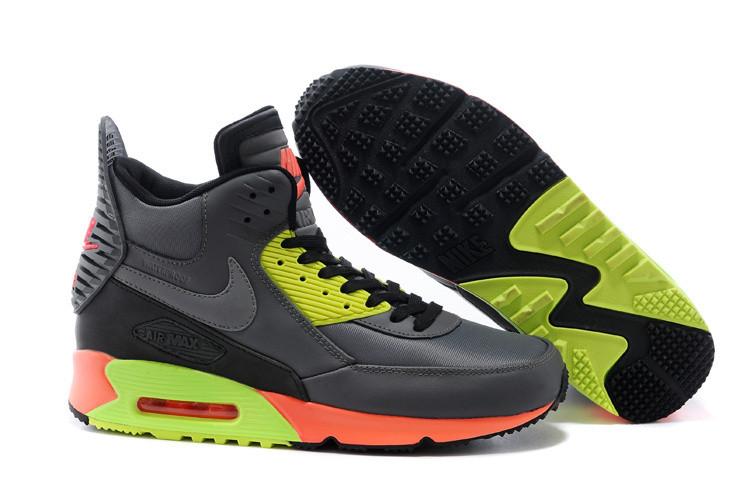 Кроссовки мужские Nike Air Max 90 Sneakerboot / 90AMM-486 (Реплика)