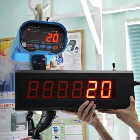 Крановые весы ВК ЗЕВС III PK 5000 ( с радиоканалом), фото 2