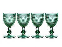 Набор бокалов для белого вина Vista Alegre Bicos 140 мл 4 шт зеленых AB10/003043364004