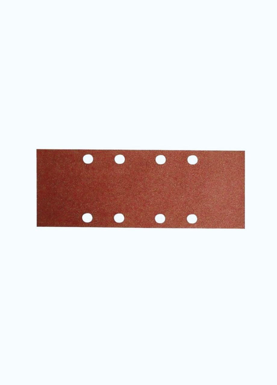 Шлифовальный лист для дерева (10шт.) Bosch 8х13,3см Красный