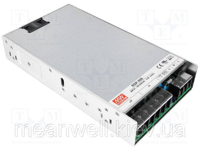 RSP-500-12 Блок питания Mean well 500.4вт, 41.7А, 12в