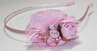 Обруч для волос розовый 6_9_269a2