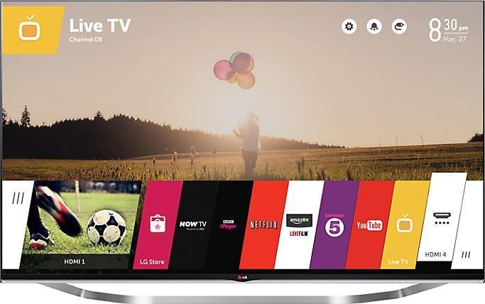 Телевизор LG 47LB730V (800Гц, Full HD, Smart, 3D, Wi-Fi, Magic Remote)
