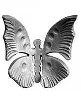 Кованая бабочка 52.222 (105x100mm)