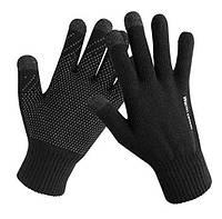Сенсорные перчатки черный (HT675)