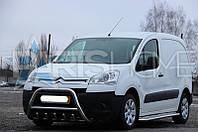 Кенгурятник Кенгур Передняя защита Peugeot Partner Tepee 2008-