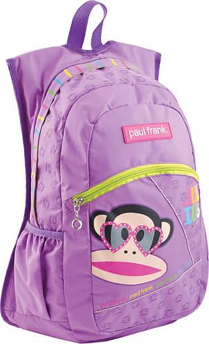 Облегченный подростковый рюкзак Paul Frank YES! 551915 сиреневый