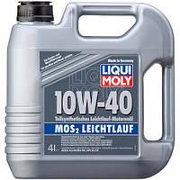 Масло моторное полусинтетика Liqui Moly(Ликви Моли) МoS2 Leichtlauf 10W-40, 4л.