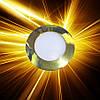 Светодиодная панель D85 3W IP20 Золото