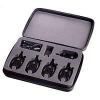 Набор сигнализаторов поклевки  4 шт+ресивер