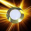 Светодиодная панель D120 6W IP20 Золото