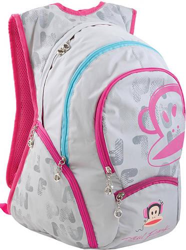 Облегченный подростковый рюкзак Paul Frank YES! 551910 серый