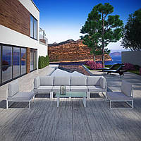 Комплект уличной мебели (диван, 2 кресла, столик) в стиле LOFT (NS-970003853)