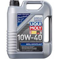 Масло моторное полусинтетика Liqui Moly(Ликви моли) МoS2 Leichtlauf 10W-40, 5л.