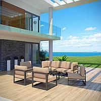 Комплект уличной мебели (диван, 4 кресла, столик) в стиле LOFT (NS-970003842)