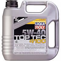 Моторное масло Liqui Moly(Ликви Моли)Top Tec 4100 5W-40, 4л.