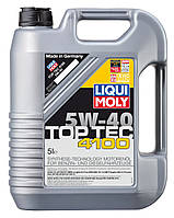 Моторное масло Liqui Moly(Ликви Моли)Top Tec 4100 5W-40, 5л.