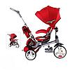 Велосипед-коляска MODI Crosser красный(T 500 (AL)