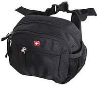 Мужская городская сумка на пояс Wenger 1092232 черный