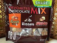 Микс шоколадных конфет Reese's, Hershey's, Rolo, фото 1