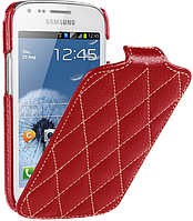 Чехол для Samsung Galaxy Mega 6.3 i9200/i9205 - Vetti Craft flip Diamond Series, красный