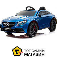 Электромобиль Kidsauto Mercedes-Benz C63 S AMG Blue Varnish (QY1588)