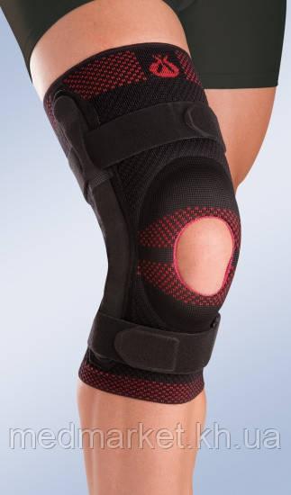 Бандаж на колено Orliman Rodisil с открытой коленной чашечкой и полицентрическим шарниром