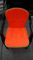 Матрас на стул Сан-бич 534018 оранжевый 78х40х2 см Украина