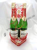Корзина для шампанского Сердце