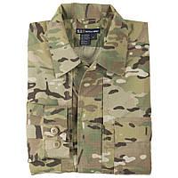 """Рубашка тактическая """"5.11 Tactical MultiCam TDU"""" (искусственно состаренный)"""
