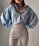 Женская свободная рубашка с широкими рукавами vN1387, фото 6