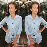 Хлопковая женская пижама с шортами vN1468, фото 2