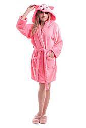 Женский домашний халат из махровой ткани  vN1479