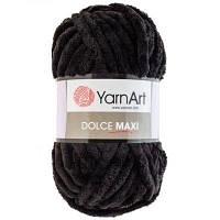 Yarnart Dolce Maxi  черный № 742