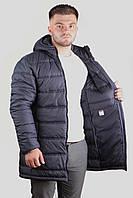 Удлиненная мужская куртка (демисезон) (46-54рр)