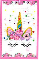 Пакетик Сказочный Единорог Цветы