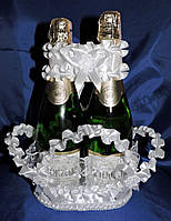 Корзина для шампанского Рюш , фото 1