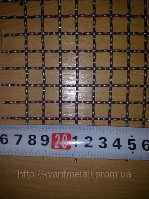 Сетка канилированная 10*10 диаметр проволоки 1.7 мм