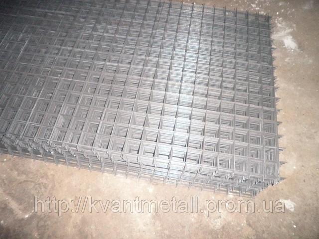 Сетка сварная 50х50, диаметр проволоки 4 размер карты 2х0,25