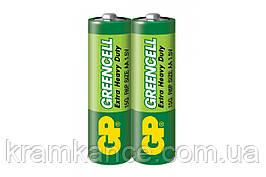 Батарейка GP  24G-S2 R6 AAGreencell (2 шт.)