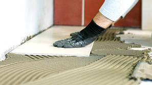 Клей цементный для плитки и камня, утеплителя, пена-клей, акриловый готовый