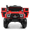 Детский электромобиль Джип M 4150 EBLR-3, Land Rover, 4WD, красный, фото 2