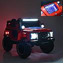 Детский электромобиль Джип M 4150 EBLR-3, Land Rover, 4WD, красный, фото 8