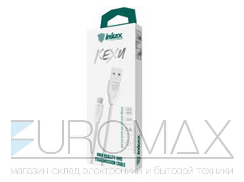 Кабель USB - Type-C 2,4А 20см InkaxCK-21-TYPEC